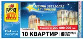1194 тираж Руслото